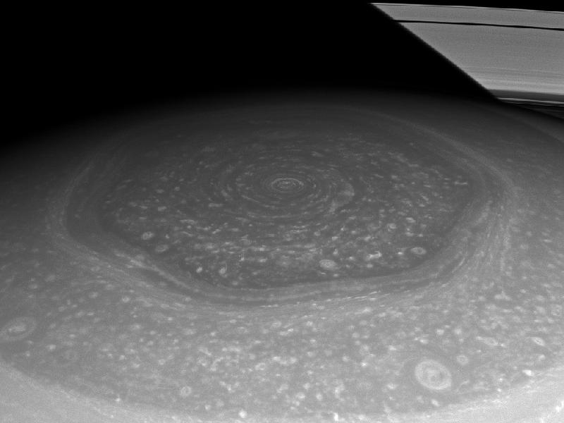Cassini image captured on Nov. 27, 2012 at a distance of approximately 403,000 miles (649,000 kilometers) from Saturn. Image scale is 22 miles (35 kilometers) per pixel. Credit: NASA/JPL-Caltech/Space Science Institute