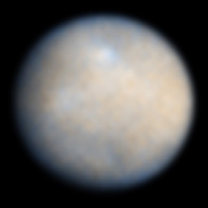 Ceres as captured by Hubble. Credit: NASA/ESA/SWRI/Cornell University/University of Maryland/STSci